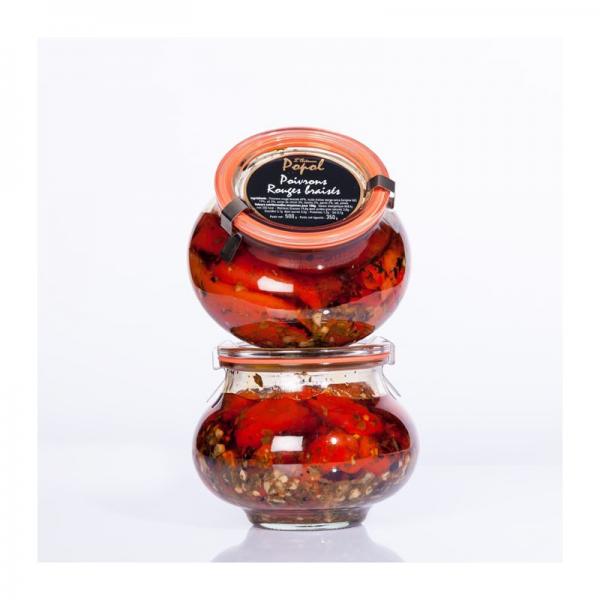 Jar Braised red peppers