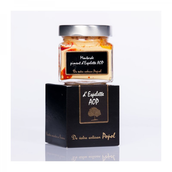 Mustard of Espelette chilli...