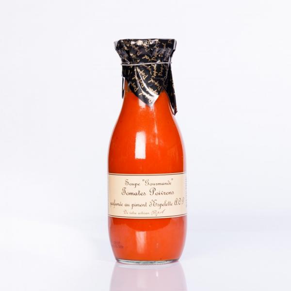 Soupe tomate-poivron...