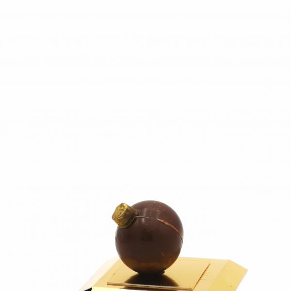 heiße Schokoladenkugel
