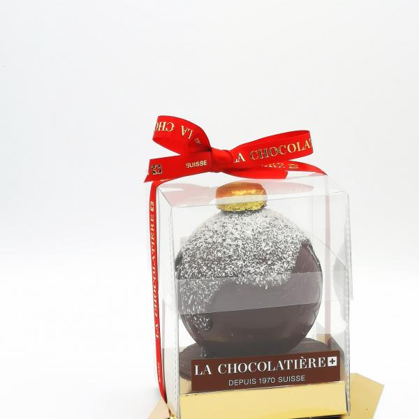 Boules de Noël en Chocolat...